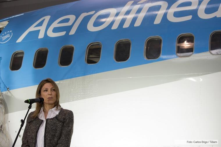ISela Constantini no quería regalar Aerolíneas Argentinas a empresas como Avianca o Fly Bondi, ambas del Presidente Mauricio Macri.