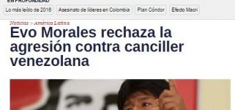 REGIÓN – Mercosur | Repudio internacional ante agresión argentina a Venezuela.
