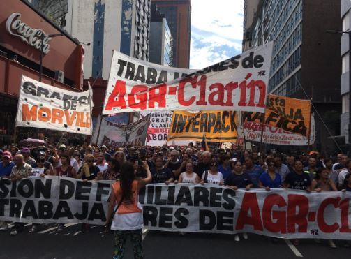 Clarín quiere invisibilizar el conflicto con sus propios trabajadores.