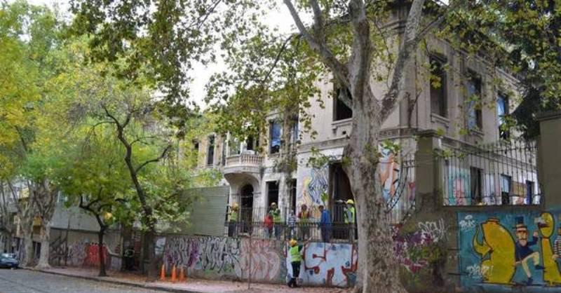 En el ex Patronato de la Infancia vivían 68 familias que el macrismo arrojó a la calle.