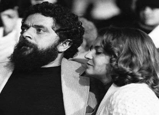 Lula con Marisa en los tiempos del sindicalismo en Sao Bernardo do Campo.