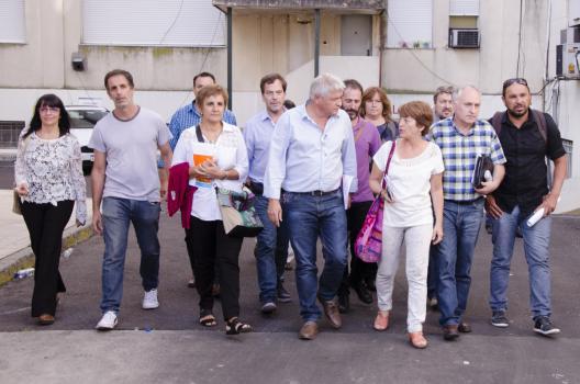 Negociadores docentes se retiran de la reunión con la Gobernación que fue una burla. FOTO: SUTEBA.