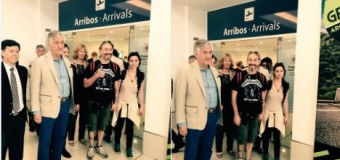 MUNDO – San Luis | El Gobernador Saá recibió a refugiados sirios.