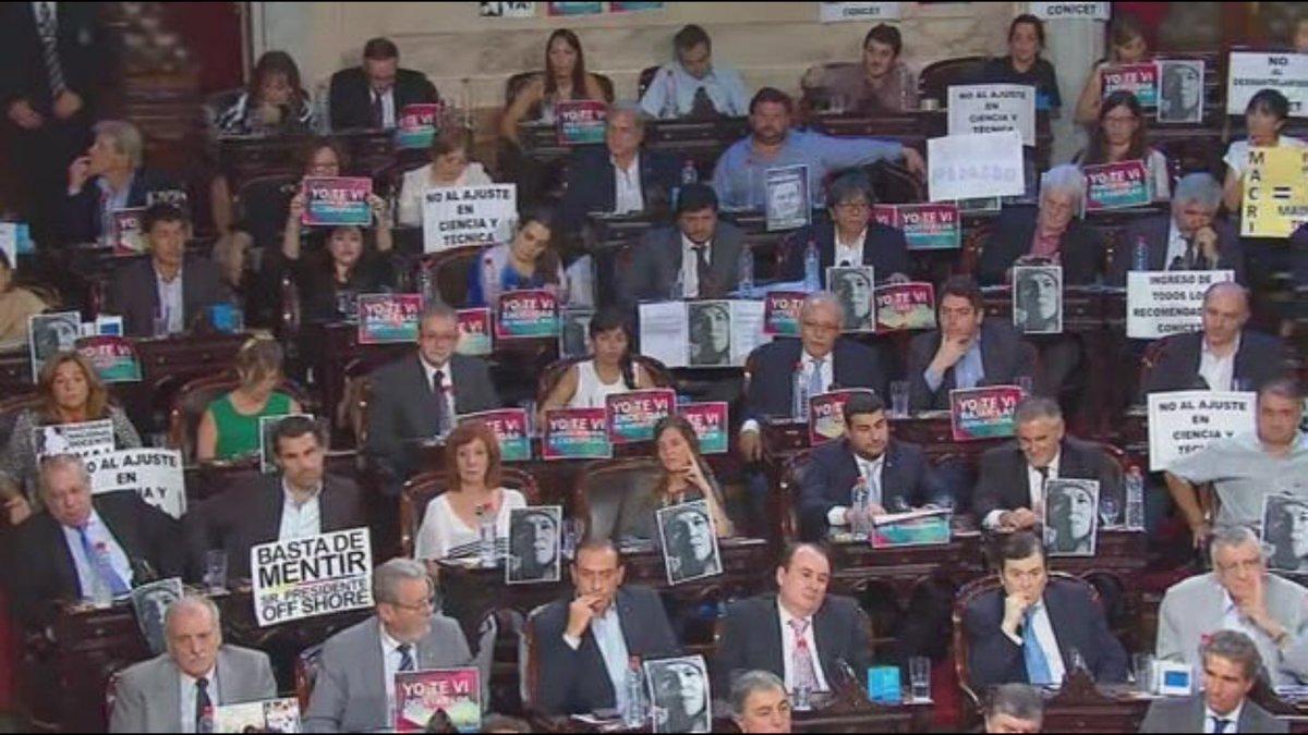 El Congreso le recordó a Macri la magnitud de sus mentiras.
