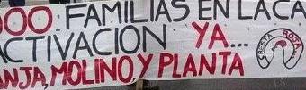TRABAJADORES – Buenos Aires | Vuelven a despedir trabajadores en Cresta Roja.