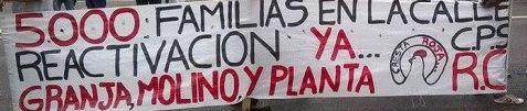 Muchos de los despedidos de CResta Roja admiten haber votado por Macri, que los dejó en la calle desde que asumió. Vidal no los atiende.