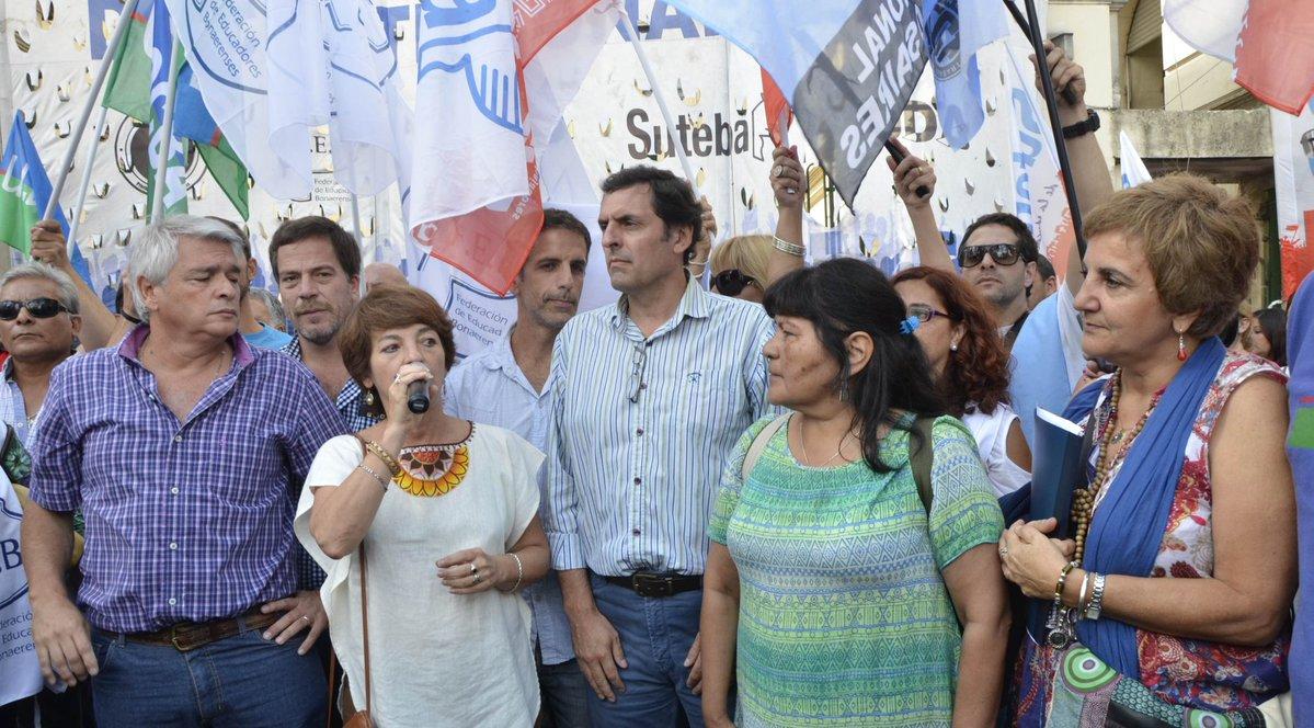Los docentes recibieron una nueva burla de María Vidal.