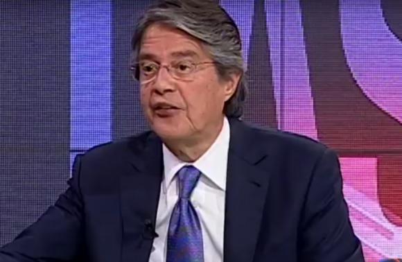 Guillermo Lasso, candidato presidencial de la ultraderecha en Ecuador.