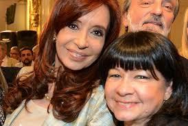 La Diputada Julia Argentina Perié junto a Cristina Fernández y al Secretario General del PSOL, Juan Carlos Junio.