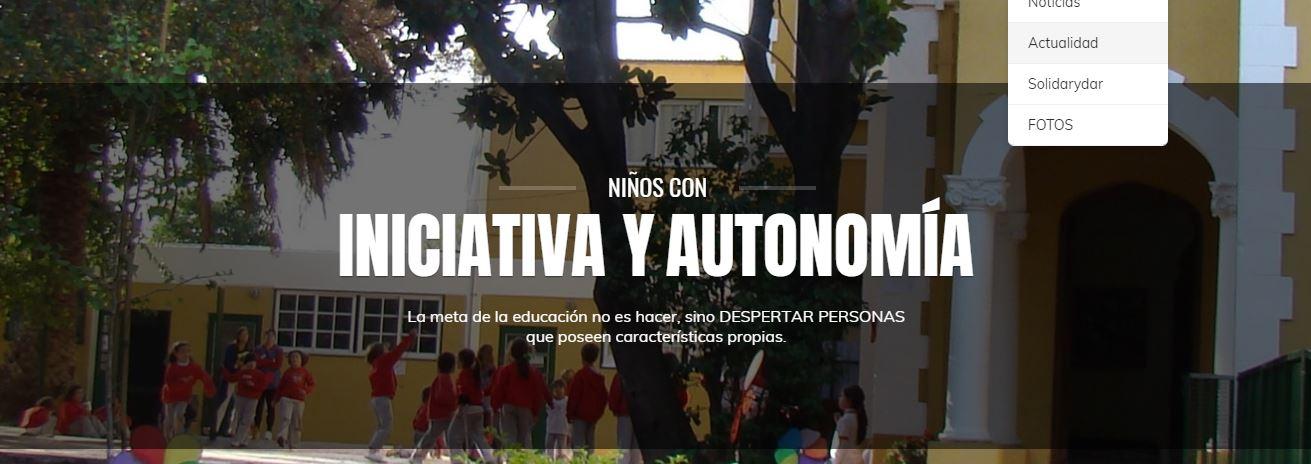 Sitio web de los hijos de María Vidal.