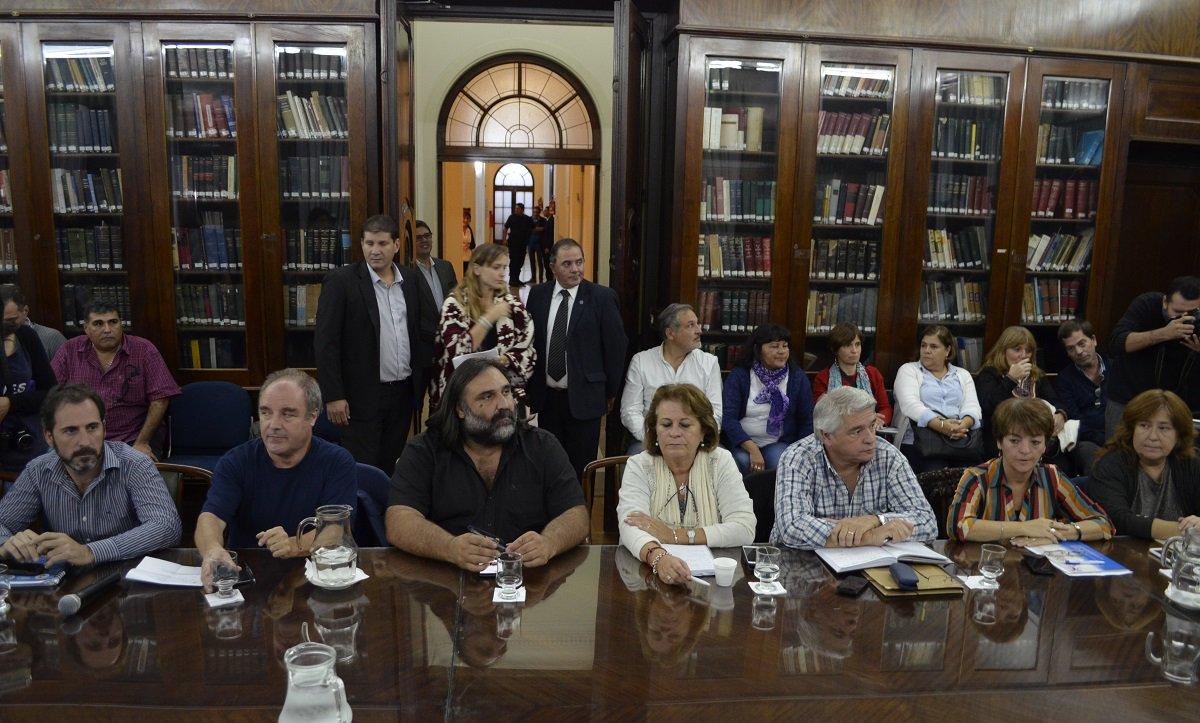 Los docentes recibieron otra ridícula oferta de Vidal. FOTO: SUTEBA