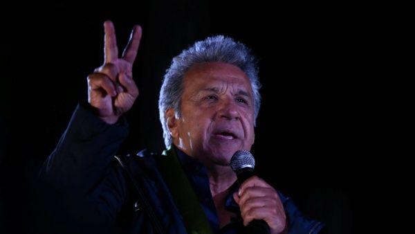 Lenin Moreno es el nuevo Presidente del Ecuador. Superó estrechamente al derechista Guillermo Lasso. FOTO: TELESURTV