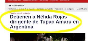 PRESOS POLÍTICOS – Régimen | Detienen a más militantes de la Tupac Amaru. Entre Mendoza y Jujuy ya son once.