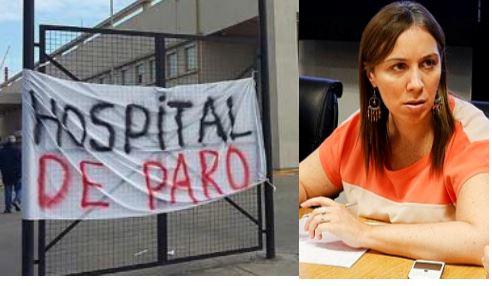 A pesar de los trece paros, Vidal no atiende a los trabajadores de la salud de la Provincia de Buenos Aires.