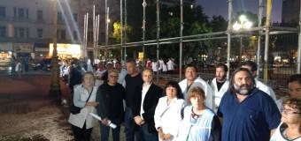 TRABAJADORES – Régimen | La policía de Macri impide la instalación de un aula itinerante.