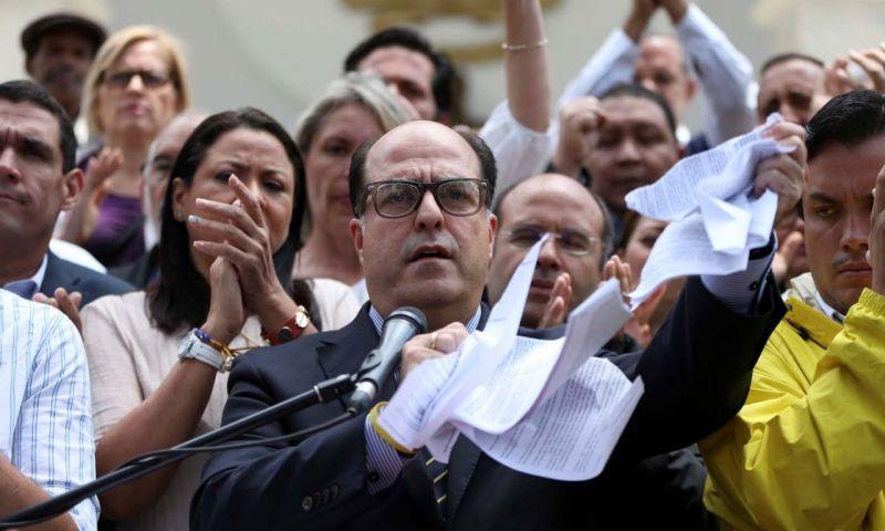 El legislador del MUD, Borges es uno de los principales impulsores del golpe contra el Presidente Nicolás Maduro. FOTO: MISIÓN VERDAD