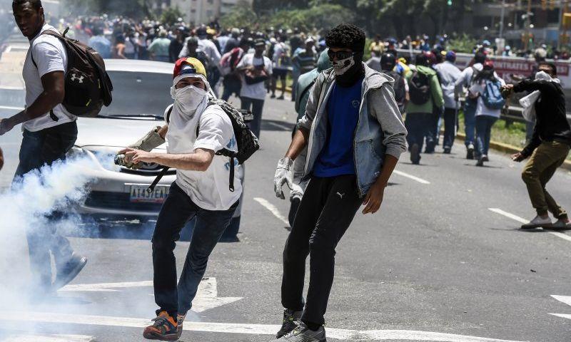 La derecha solo quiere provocar muerte y caos para justificar la intervención extranjera. FOTO: MISIÓN VERDAD
