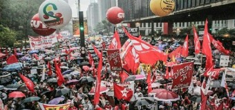 REGIÓN – Brasil | Miles de brasileños reclamaron la renuncia del golpista Temer y pidieron elecciones directas.