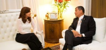 REGIÓN – Progresismo | Rafael Correa recibiòn un reconocimiento en Argentina y se reunió con expresidenta argentina Cristina Fernández.