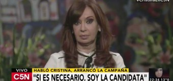 POLÍTICA – Peronismo | Cristina Fernández dio un reportaje a periodistas de C5N.