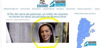ELECCIONES – Régimen | Se teme que exista manipulación de los padrones bonaerenses.
