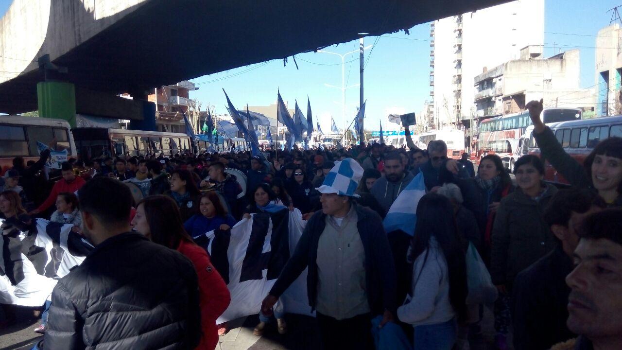 Lanzamiento de Unidad Ciudadana. FOTO: LEANDRO LLOP