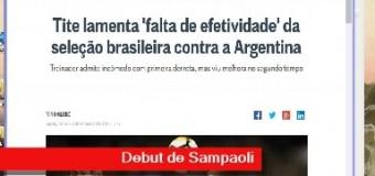 TV MUNDUS – Deporvida 320 | En el debut de Sampaoli, Argentina le ganó a Brasil.