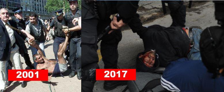 Triste similtud entre 2001 y 2017.