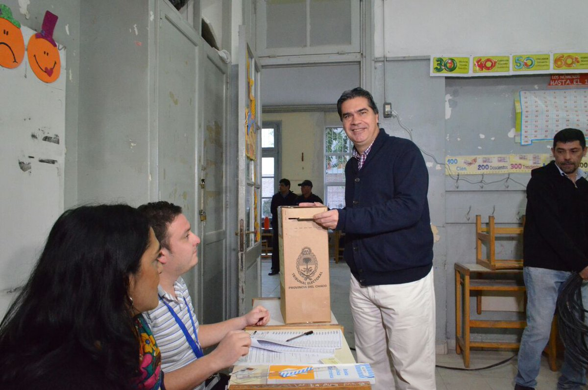 Jorge Capitanich es el líder del peronismo chaqueño que volvió a ganar.