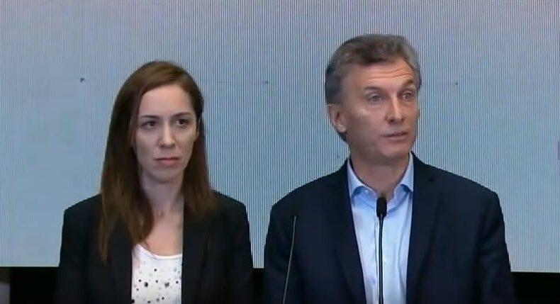 El Presidente Macri y la Gobernadora Vidal son cómplices en la fortuna escondida del mandatario.