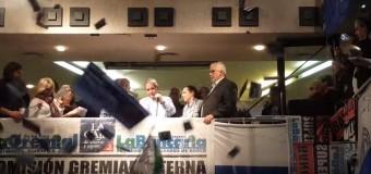 TRABAJADORES – Régimen | Punto de encuentro de la Corriente Federal para marchar en contra de la reformas laboral y previsional.