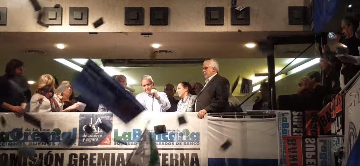 Sergio Palazzo, reelecto como Secretario General de la La Bancaria