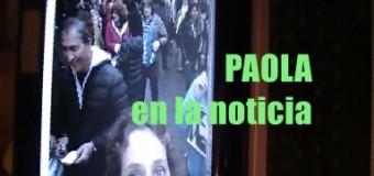 TV MUNDUS – PAOLA en la Noticia nº 1 | Manifestación pidiendo la aparición con vida de Santiago Maldonado