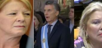 DESAPARECIDO – Régimen | Carrió y Stolbizer callan el tema Maldonado porque Macri sabe de sus oscuridades.