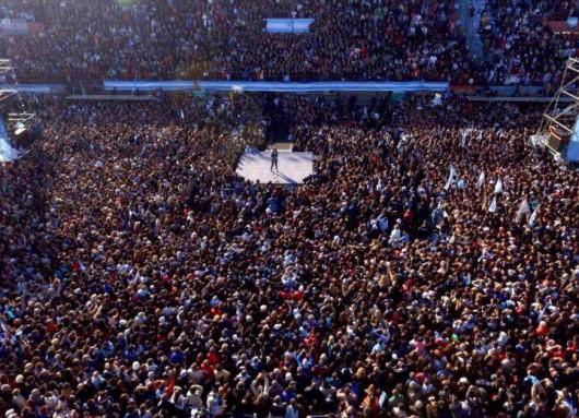 Cristina Fernández llamó a los ciudadanos a unirse para frenar el ajustazo que prepara el macrismo.
