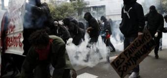 EUROPA – Francia | Macron reprime a los trabajadores en medio de un fuerte paro y grandes disturbios.