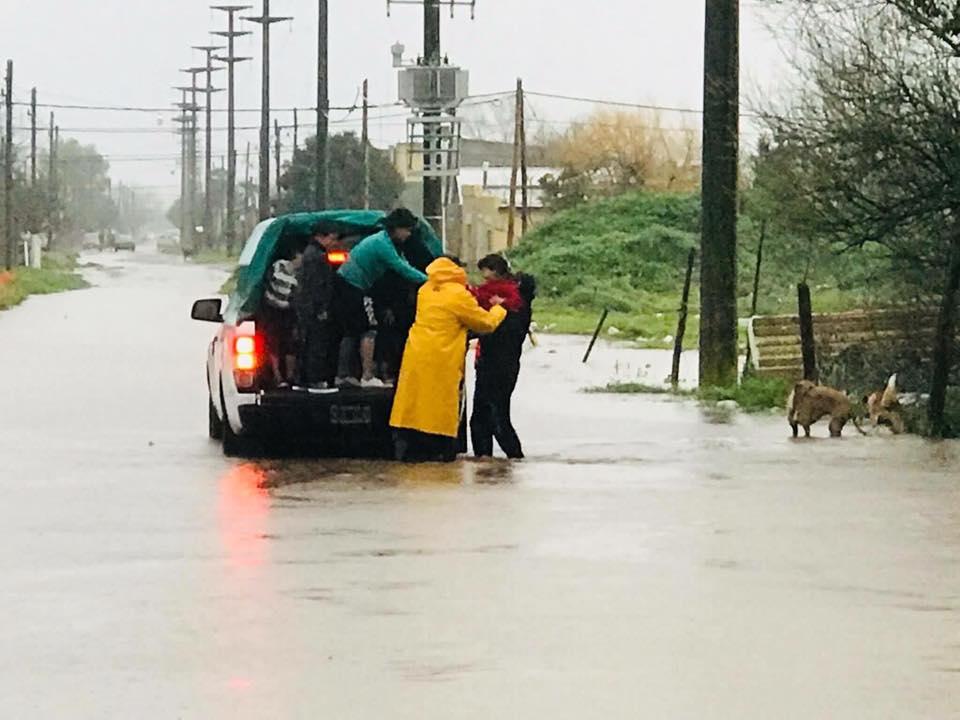 Vidal ni habla de las inundaciones en Buenos Aires.