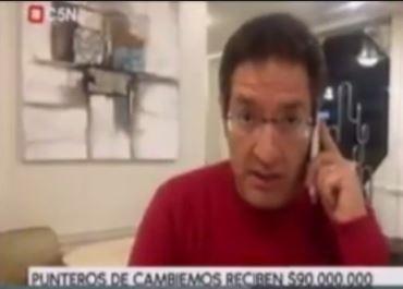 El periodista Tomás Méndez del canal C5N fue echado de un hotel santafesino por hablar mal del macrista Intendente de Santa Fé.