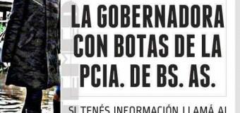 BUENOS AIRES – Régimen | Vidal no aparece y ya hay 8 millones de hectáreas inundadas.