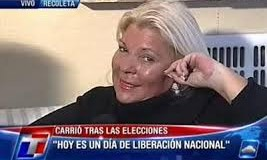 DESAPARECIDO (XVII) – Régimen | Carrió dijo que Maldonado se conservó en el frío del agua como Disney.
