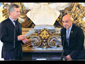 Gustavo Arribas, mano derecha íntima del Presidente Mauricio Macri.