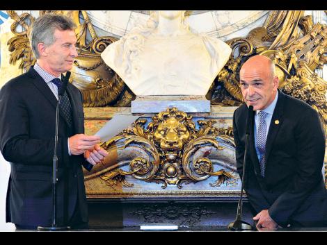 Gustavo Arribas, mano derecha íntima del ex Presidente Mauricio Macri.