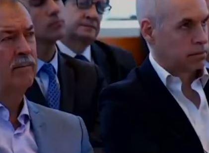 Macristas Schiaretti, Urutubey y Rodríguez Larreta.