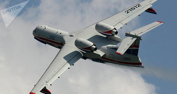 Avión radar ruso para rescate.