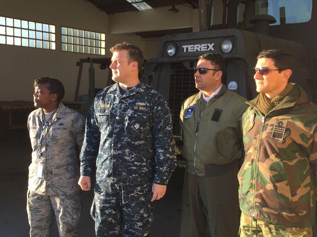 Militares norteamericanos desembarcan en Comodoro Rivadavia sin acuerdo del Congreso Nacional.