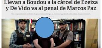 PRESO POLÍTICO – Régimen | El diario Clarín difunde fotos que debieran ser privadas en la detención de Boudou.