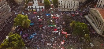 DERECHOS HUMANOS – Régimen | Multitudinaria marcha a tres meses del asesinato de Santiago Maldonado.