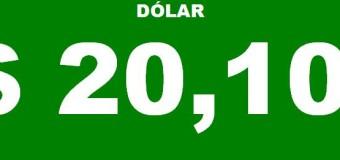 DEVALUACIÓN – Régimen | Las cuevas de la City venden el dólar blue a $ 20,10 para el martes.