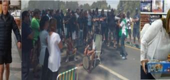 TRABAJADORES – Régimen | Pueblada en Azul, donde despidieron 250 trabajadores de Fabricaciones Militares. Vidal sigue de vacaciones.