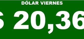 ECONOMÍA – Régimen | El Dólar se disparó a $ 20,36 y se acelera la inflación.